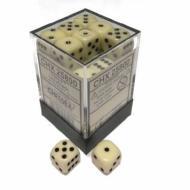 Drustvena igra, Beograd, Prodaja, Srbija, Chessex D6 set od 36 kockica - Ivory with Black