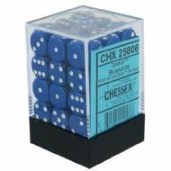 Drustvena igra, Beograd, Prodaja, Srbija, Chessex D6 set od 36 kockica - Blue with White