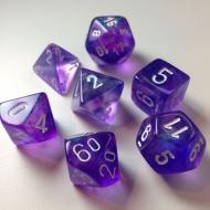 Drustvena igra, Beograd, Prodaja, Srbija, Chessex Borealis - Purple with White