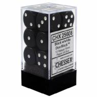 Drustvena igra, Beograd, Prodaja, Srbija, Chessex D6 Black with White