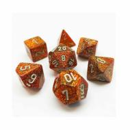 Dungeons & Dragons, FRP, Srbija, Prodaja Beograd, Kockice, Chessex Glitter Gold with Silver