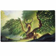 yugioh, prodaja, srbija, beograd, Yu-Gi-Oh! Dragon Shield Playmat - Lime Laima