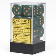 Drustvena igra, Beograd, Prodaja, Srbija, Chessex D6 Dusty Green with Copper