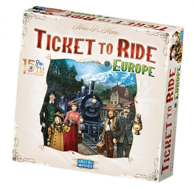Drustvena igra, Beograd, Prodaja, Srbija, Ticket to Ride Europe 15th Anniversary