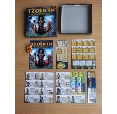 Ekspanzija za društvenu igru Tzolk'in -Tribes & Prophecies sadržaj igre