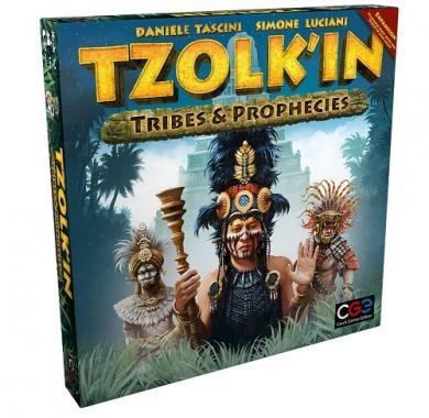Ekspanzija za društvenu igru Tzolk'in -Tribes & Prophecies pakovanje